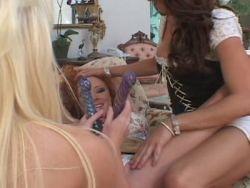Sexy lesbische Orgie-Bilder